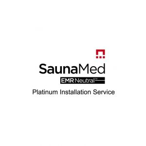 SaunaMed Infrared Saunas Platinum Installation