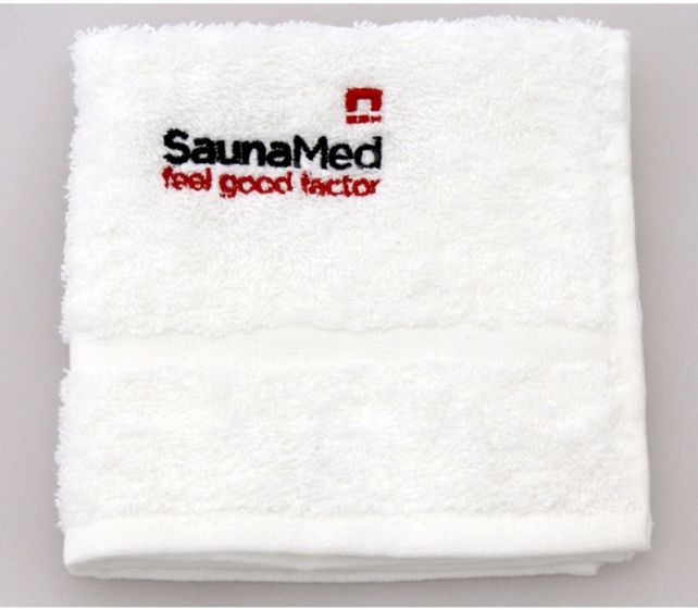 SaunaMed 100% Luxury Egyptian Cotton Super Absorbent Face Towel