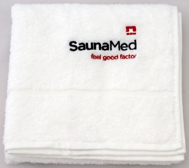 SaunaMed 100% Luxury Egyptian Cotton Super Absorbent Hand Towel